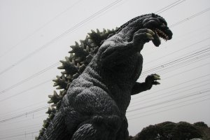 A side view of the Godzilla Slide.