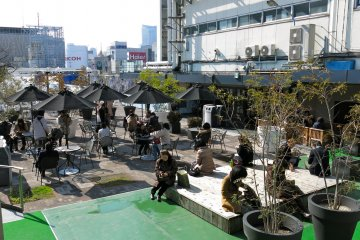 <p>Rooftop view from Matsuya&nbsp;Department Store in Ginza</p>