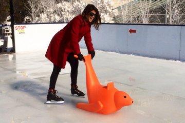 <p>Mr. orange seal was also my best friend this day</p>
