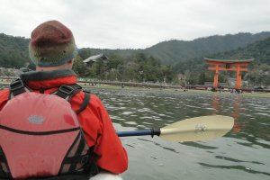 Approaching the Torii
