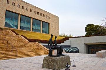 <p>Main building of MOA Museum of Art</p>