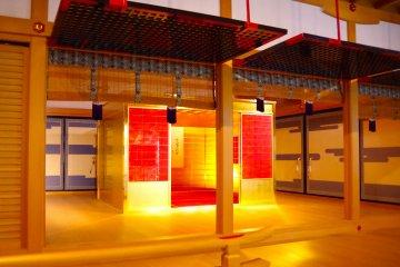 <p>Golden tearoom</p>