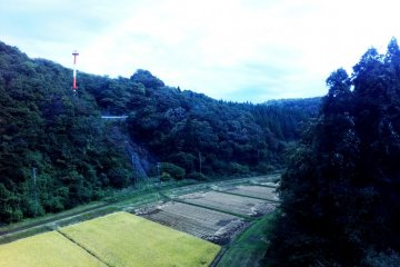 <p>Stunning scenery between Akita Airport and Akita City from the Airport Limousine Bus</p>