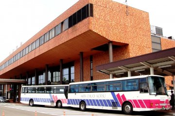 <p>Akita Airport Buses are operated by Akita Chuo Kotsu</p>