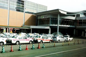 <p>You can also catch a taxi from JR Akita Station West exit to Akita Airport</p>