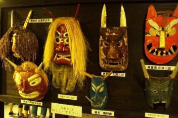 <p>The Namahage Museum in the&nbsp;Oga Peninsula, with a door to door service from Akita Airport on the Airport Taxi Van service</p>