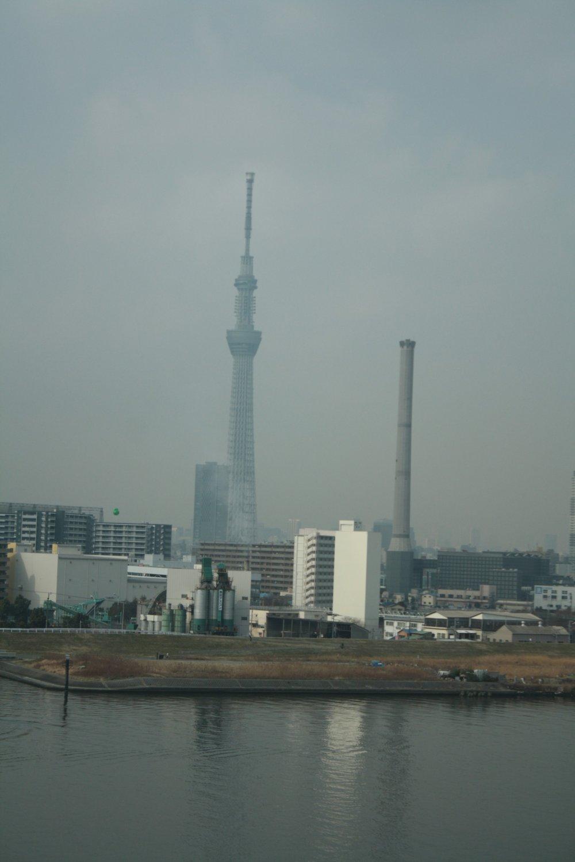 โตเกียวสกายทรีสูงจริงๆ