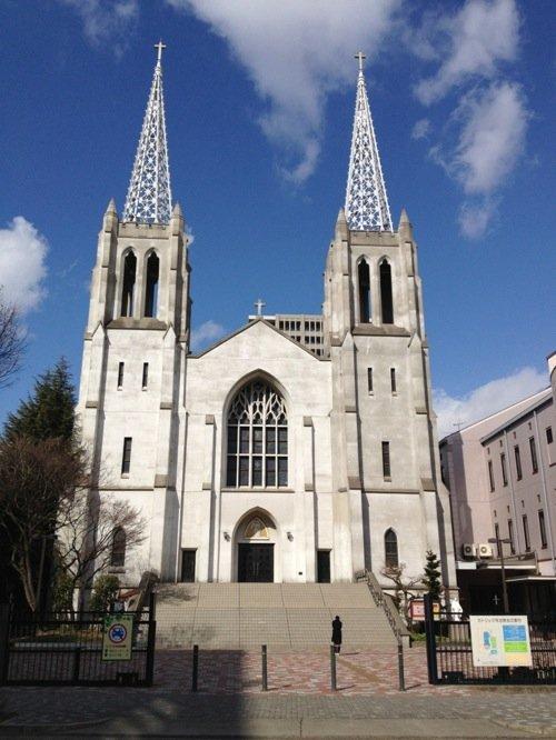 The elegant Nunoike Cathedral, Nagoya