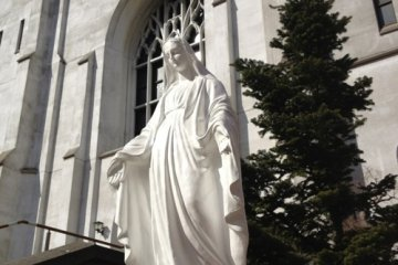 The Mother Mary, Nunoike Cathedral