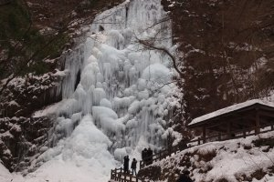 Shirai Falls in Toon