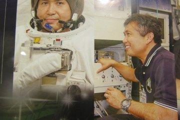 <p>คุณโคอิจิ วากัตตะ มนุษย์อวกาศที่ทำงานบนคิโบขณะนี้</p>