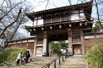 Kubota Castle steps
