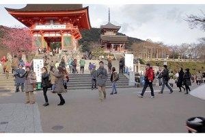 Entrance ofKiyomizu-Dera Temple, Kyoto, Japan