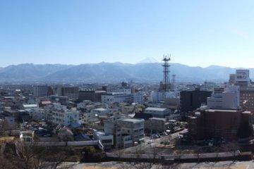 Kofu City panorama