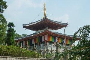 The 17th Century Enshoudo Pavilion at Koshoji Temple