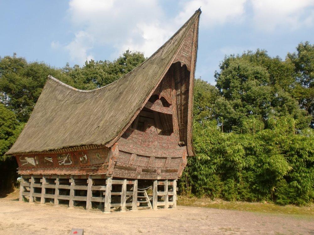 Nhà Toda Batak lấy cảm hứng từ đất nước Indonesia