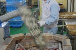 Les pros qui cuisinent les Senbei