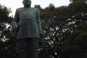 The statue of General Takamori Saigo