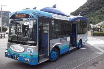 รถบัสชมวิวเมืองคาโกชิม่า
