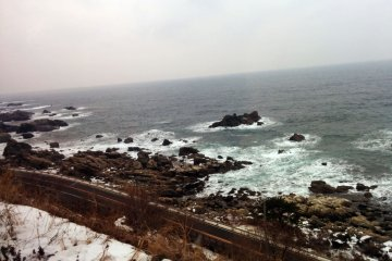 <p>Great views of the Sea of Japan.</p>