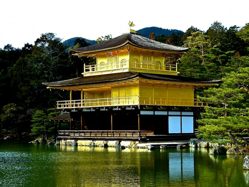<p>The Golden Pavilion, Kinkaku</p>