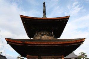 Nagoya's oldest standing structure, Arako's pagoda.