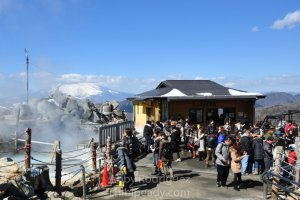 Mt Fuji and the Hut