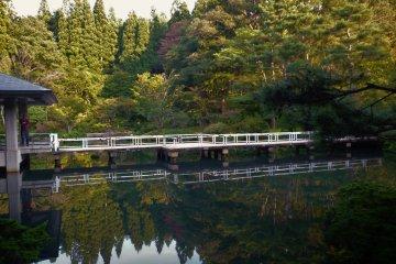 Парк Кэнрицу Коидзумигата в Акита