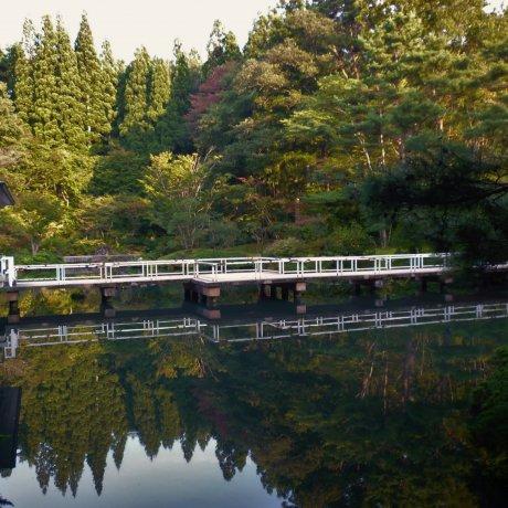 아키타의 켄리쓰 코이즈미가타 공원