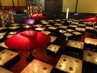 Khu trưng bày gần nhà tắm Sakura-yu