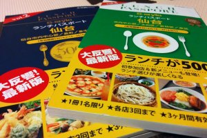 The Sendai Lunch Passport is your golden ticket to exploring the city through your stomach on a budget