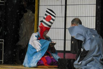 <p>It is so incredible to see how professionally they do things not just from the dance but what happens after they dance, like cleaning off the inside of the mask.</p>