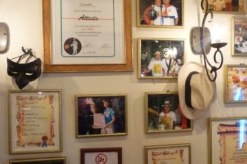 Some of the awards and citations won by Cesari