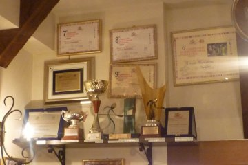 Trophies and awards won by Cesari