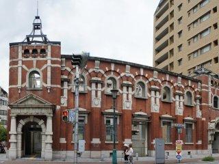 Front view ofMinato Motomachi Station