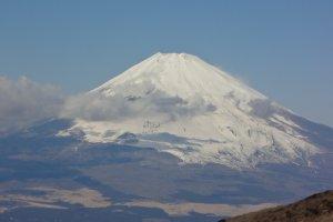 Splendid view of Mt. Fuji