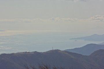 <p>View of&nbsp;Sagami Bay</p>