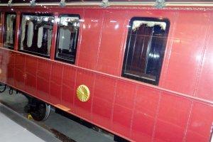 รถไฟในยุคหนึ่งของราชวงศ์ญี่ปุ่น