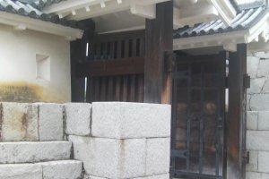 赤穂城入り口