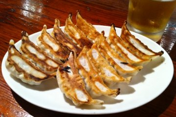 If you don't like gyoza, you'll leave hungry.