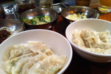 Gyoza and sides for two