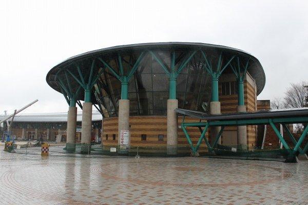 エンゼルランドのエントランスホール外観