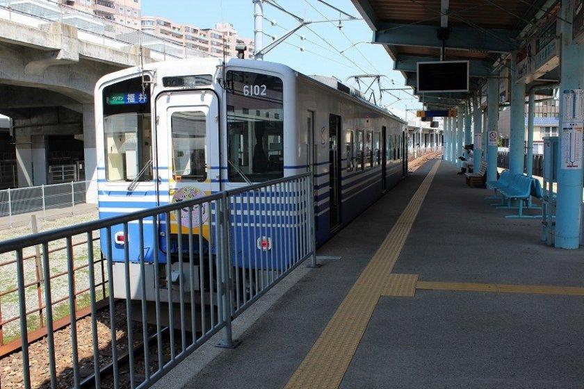 えち鉄のターミナル駅「福井駅」