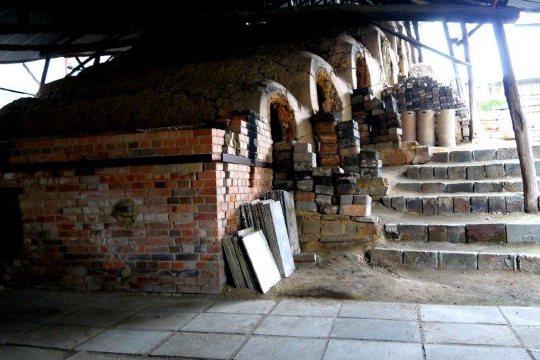 Pottery Kilns at Shigaraki