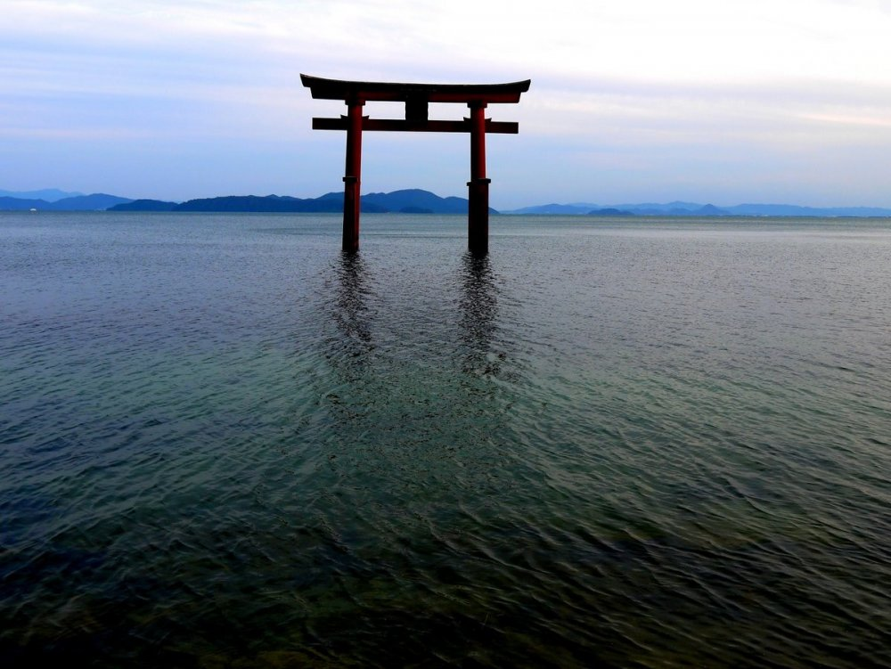 Torii are supposed to be doors from this world to the spiritual world