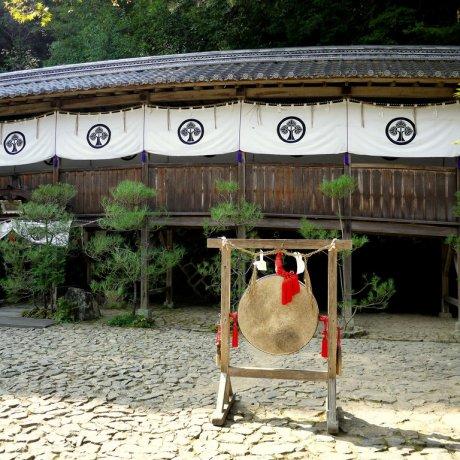 Tachiki-Kannon Temple in Shiga