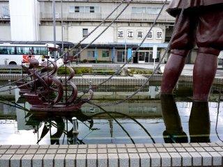 Omi-Takashima JR Station