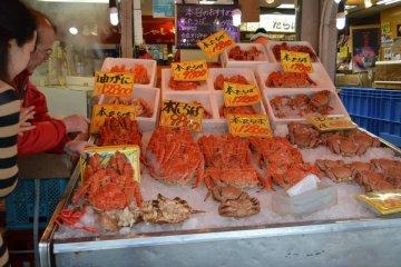 ลุยตลาดอาหารทะเลสดๆ Nijo Ichiba