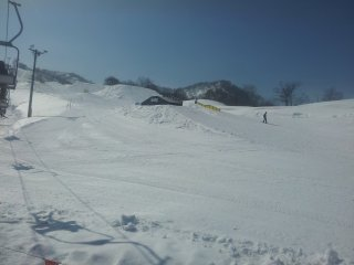 One of the best terrain parks in Japan