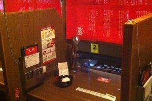 Your individual ramen-eating desk